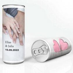 Sekt Dosen Hochzeit