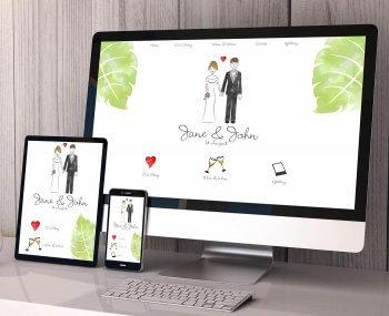 Hochzeitshomepage kostenlos