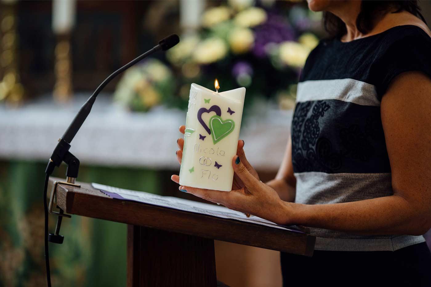 Hochzeitskerze Gedicht