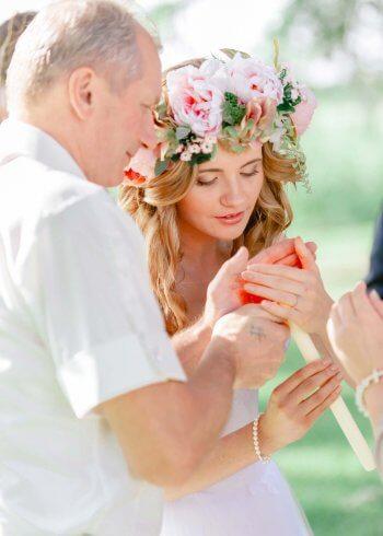 Kerze Hochzeit