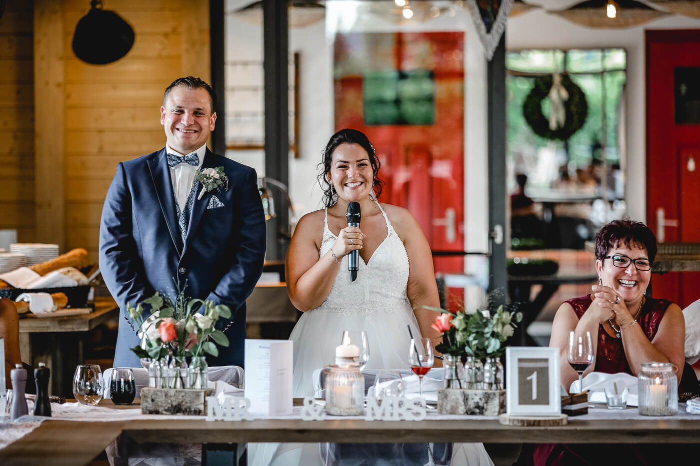 Kurze Hochzeitsrede