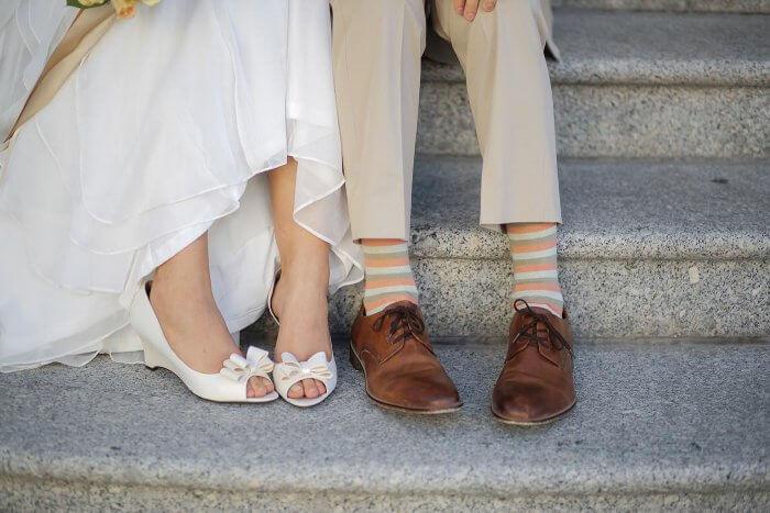 Schuhe für Hochzeit