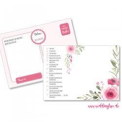 52 Postkarten Hochzeit Ideen