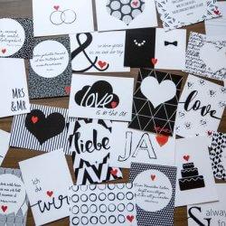 52 postkarten f r das brautpaar ein hochzeitsgeschenk das lange erfreut. Black Bedroom Furniture Sets. Home Design Ideas