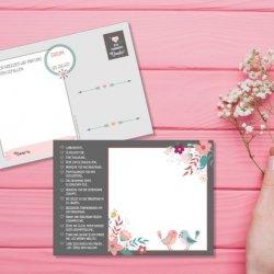 Hochzeitspostkarten