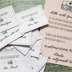 Postkartenspiel Hochzeit