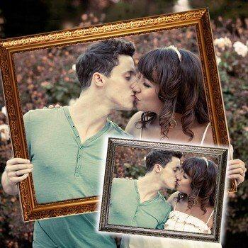 Hochzeitsrahmen Hochzeitsspiel