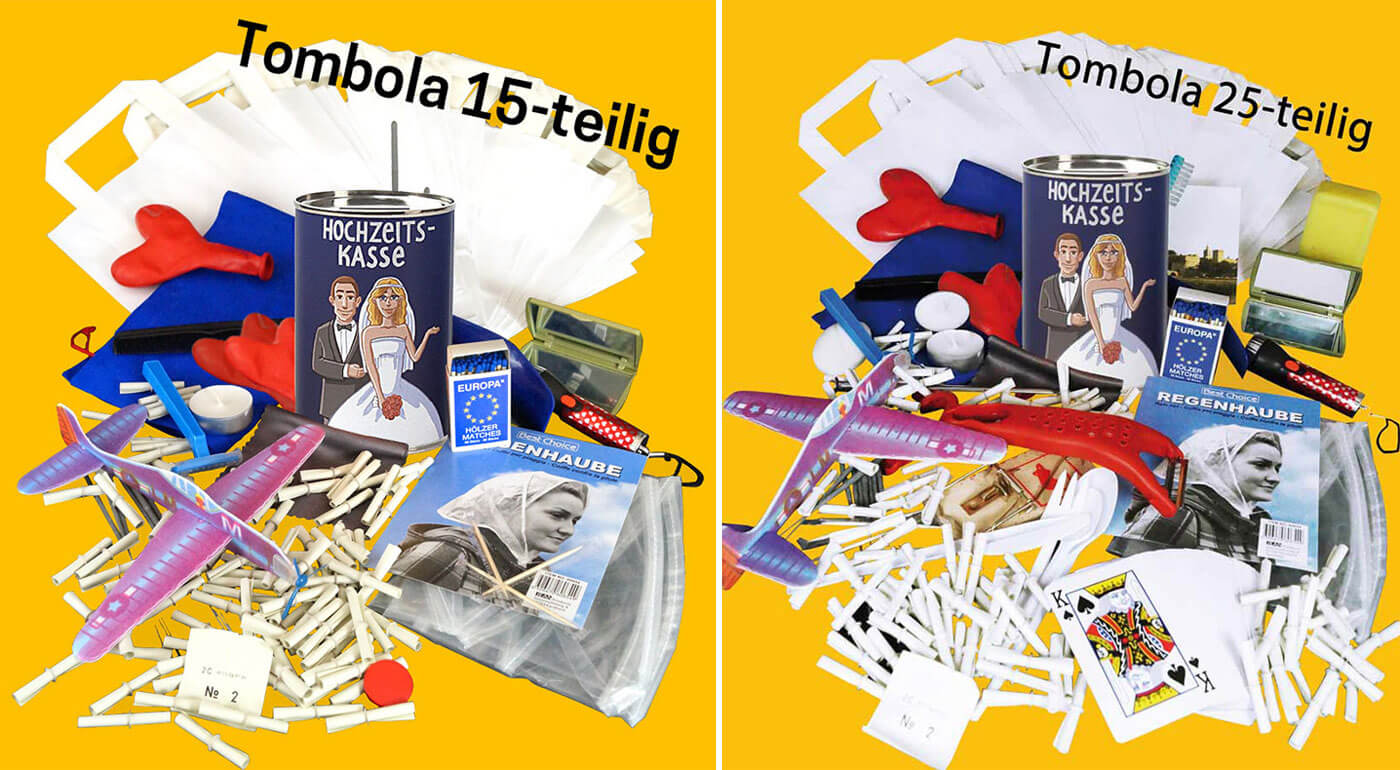 Hochzeit Tombola