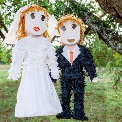 Piñata Brautpaar