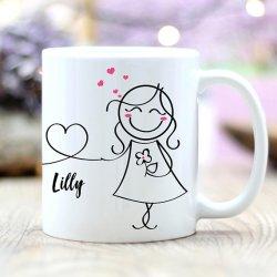 Personalisierte Tasse Hochzeit