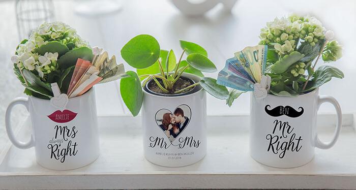 Tassen Mr und Mrs