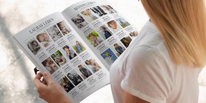 Hochzeitszeitung Vorlagen