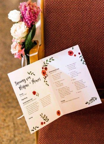 Kirchenheft Fur Die Hochzeit Anleitung Hochzeitsportal24