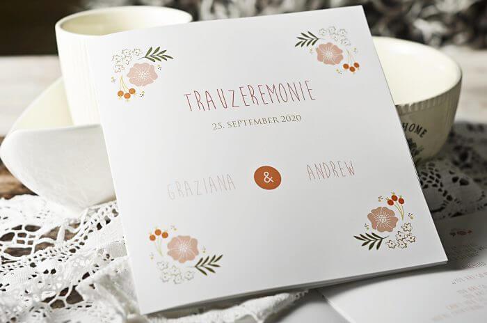 Kirchenheft für die Hochzeit Anleitung - Hochzeitsportal24