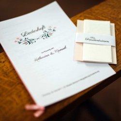 Liederheft Hochzeit