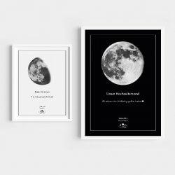 Mond-Poster