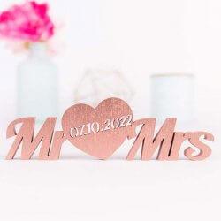 Mr. & Mrs. Schriftzug