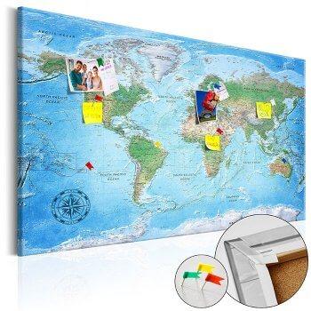 Hochzeitsgeschenk Reise Weltkarte