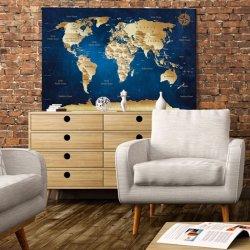 Weltkarte Wandbild