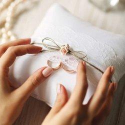 Kissen für Ringe