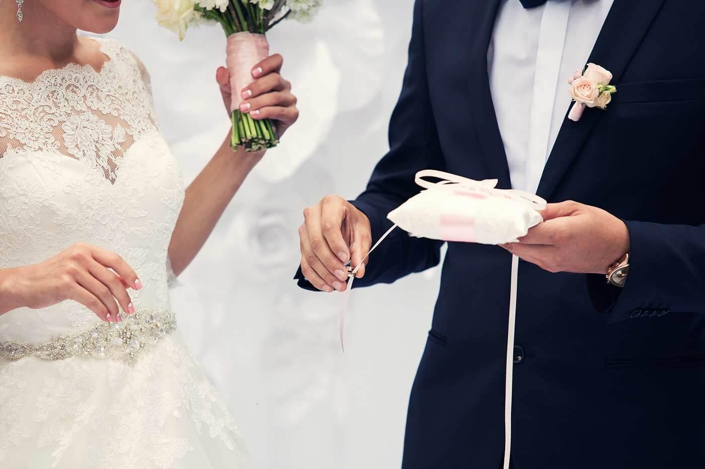 Ringhalter Hochzeit