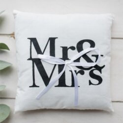 Ringkissen Mr Mrs