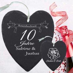 10 jähriger Hochzeitstag Geschenk