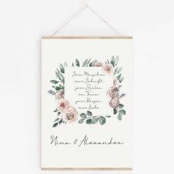 Geschenk Rosenhochzeit