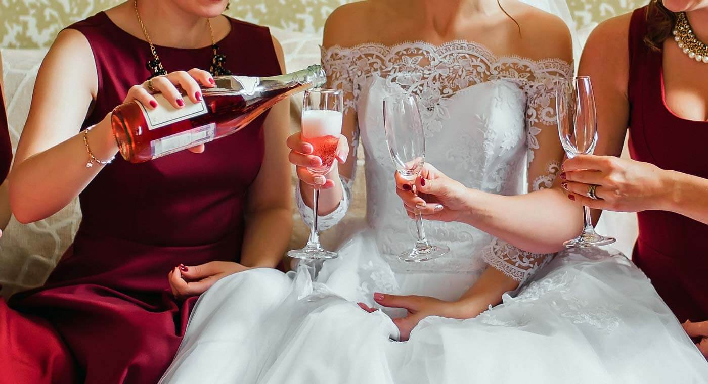 Hochzeit Sektempfang