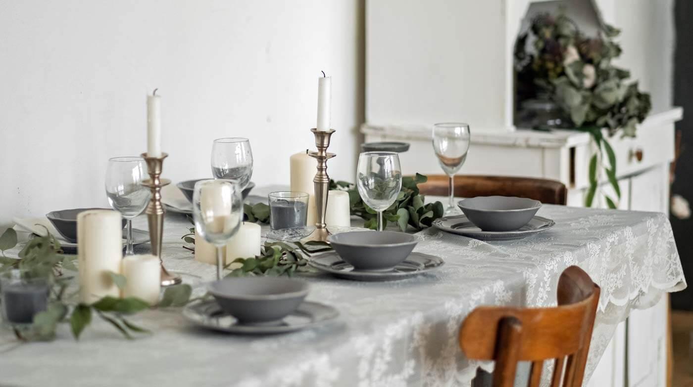 Tischdeko Silberhochzeit Mustertische