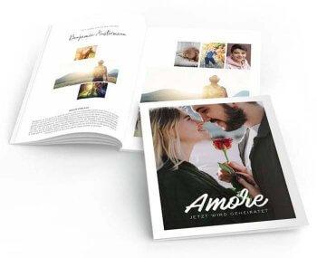 Hochzeitszeitung online gestalten