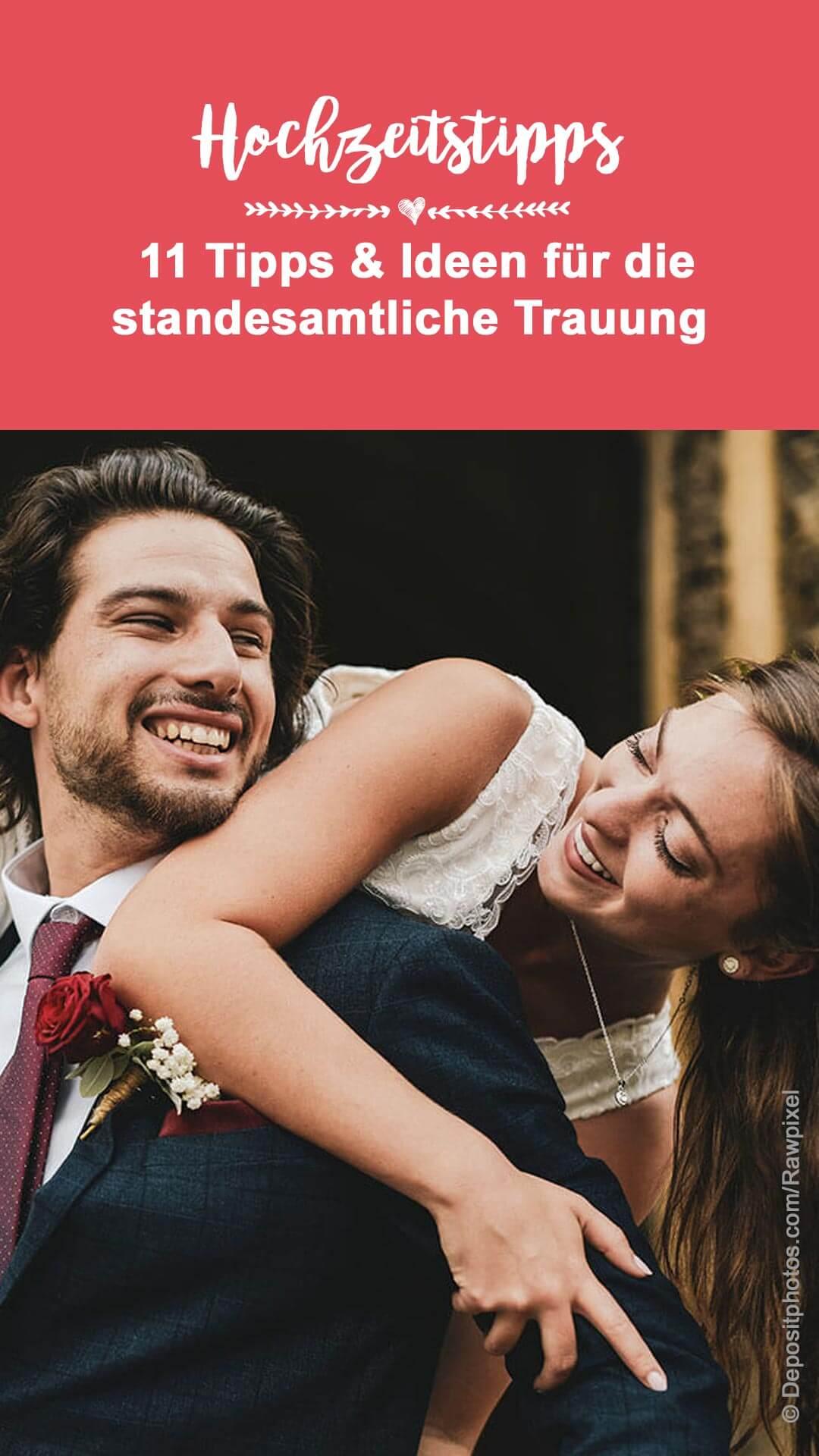 Standesamtliche Eheschließung
