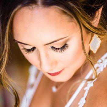 Wimpern Hochzeit