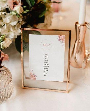Gruppen Tischkarten Hochzeit