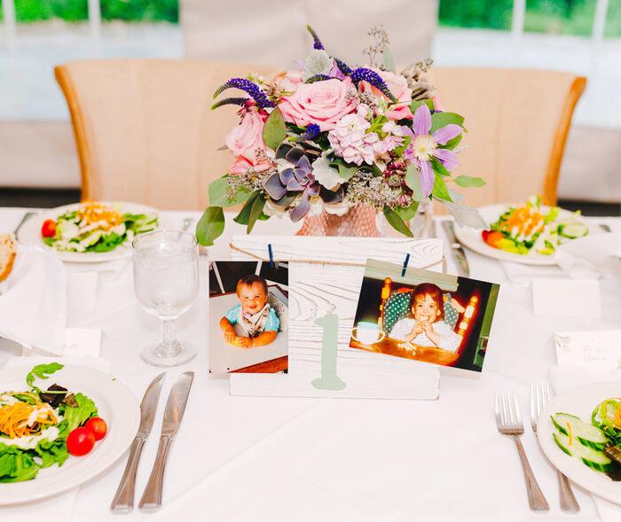 Hochzeit Tischnummern Ideen