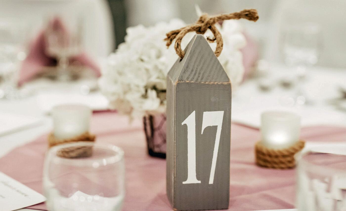Maritime Tischnummer