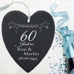 Diamantene Hochzeit Geschenke