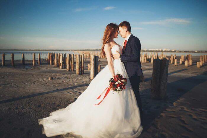 Brautkleid zerstören