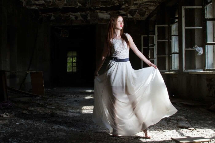 Hochzeitskleid crashen