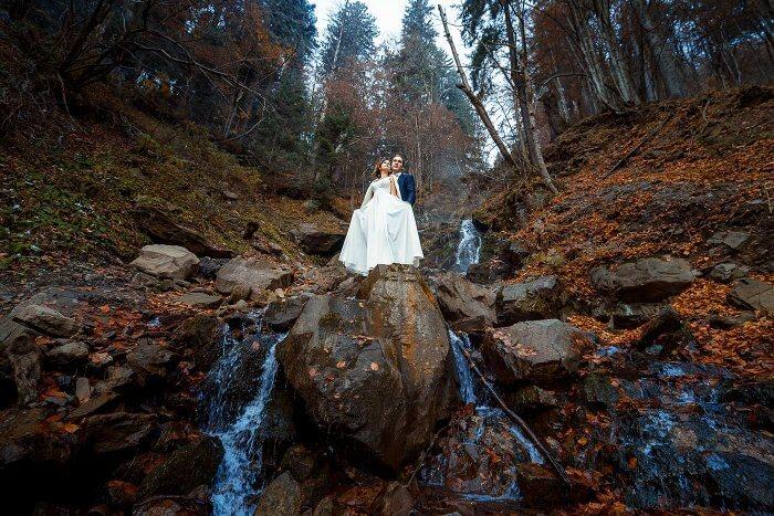 Hochzeitskleid zerstören