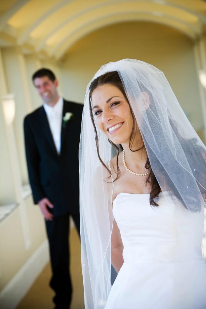 Hochzeit Schleier für die Braut