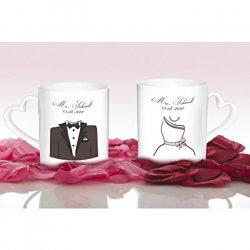 Tassen zur Hochzeit