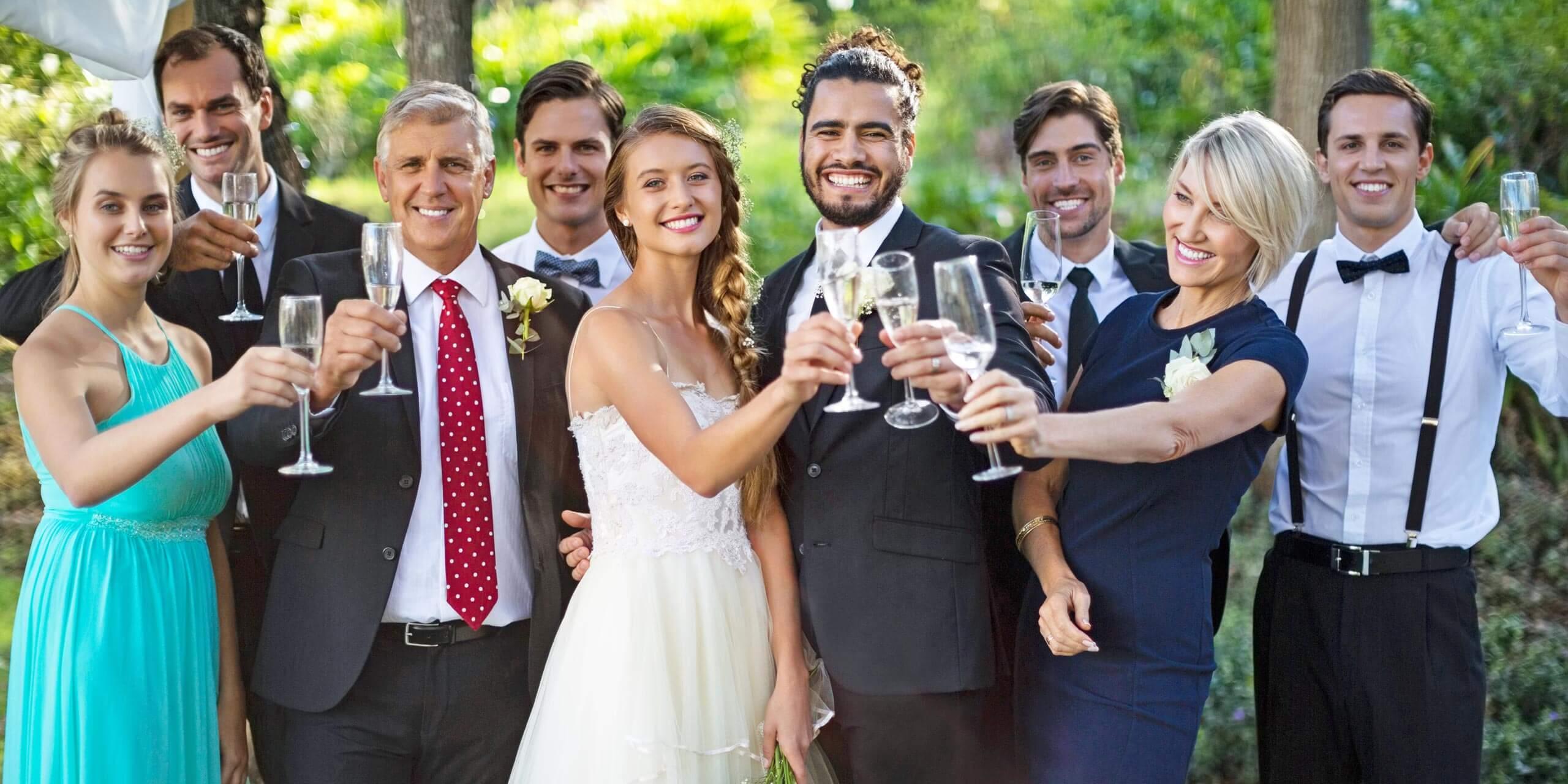 Brautpaare Werbung